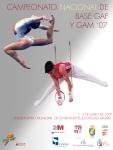 Cartel Campeonato de España Base GAF y GAM 2007